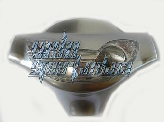 Фара передняя в сборе на электровелосипед Azimut 026Z, 054Z