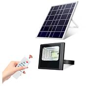 Прожектор на солнечной батарее, 25Вт 6500К Sunlight с пультом