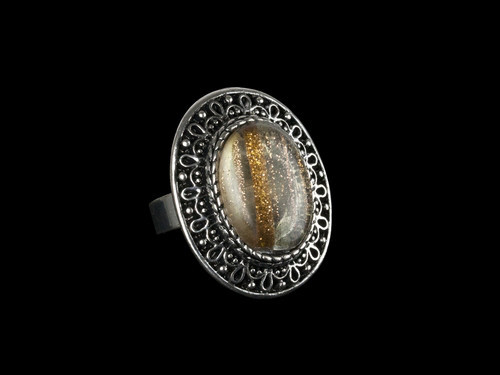 Перстень женский с Рутиловым Кварцем