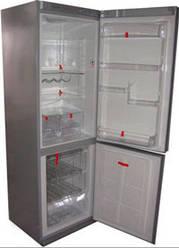 Уплотнительная резина холодильника (Морозилка)Snaigė RF 34