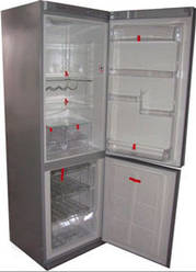 Уплотнительная резина холодильника (Холодильная камера)Snaigė RF 34