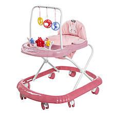 Ходунки детские TILLY Smile T-4210 розовые