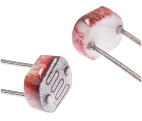 Фоторезистор gl5537 LDR 5537 5мм Rd=20-30K