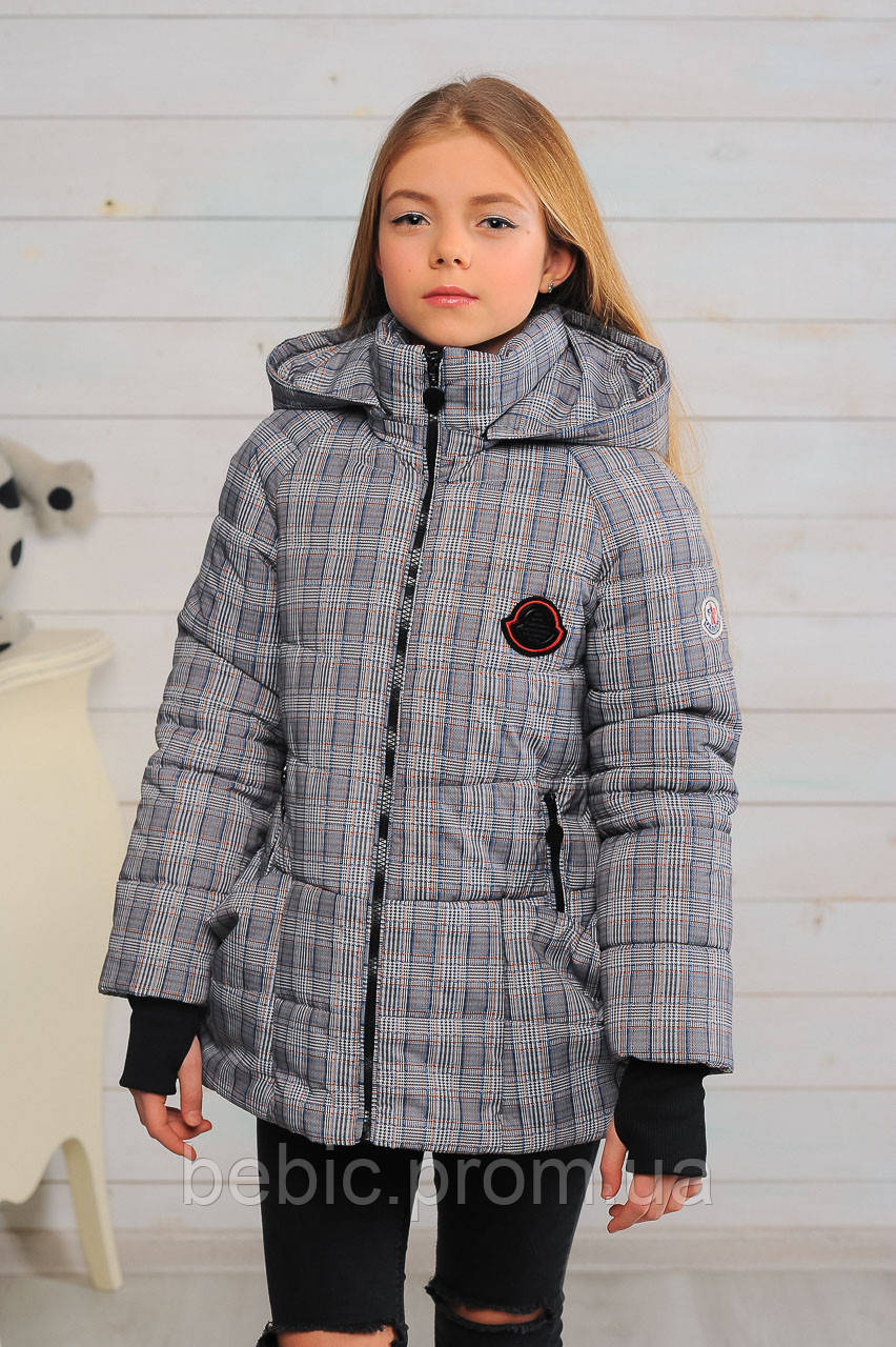 Куртка «Анабель», клетка Рост:122-158 см