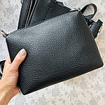 Женская сумка c косметичкой черная  (1892-1), фото 5