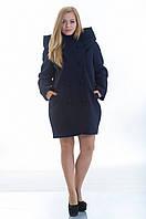 Пальто №14 темно-синий р.46-48;50-52;54-56