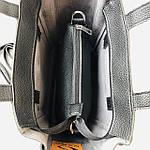 Женская сумка c косметичкой черная  (1892-1), фото 6