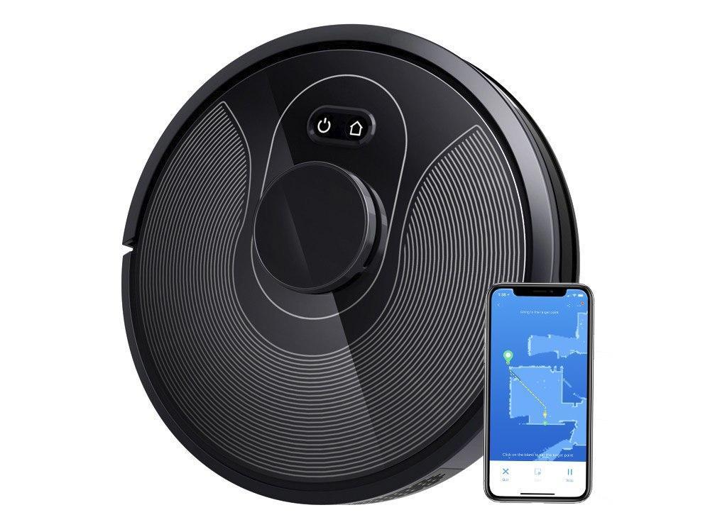 Робот пылесос iBot Vac PLUS с лазерной навигацией iNavi Plus™ и загрузкой карт