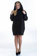Пальто №14 черный р.46-48;50-52;54-56