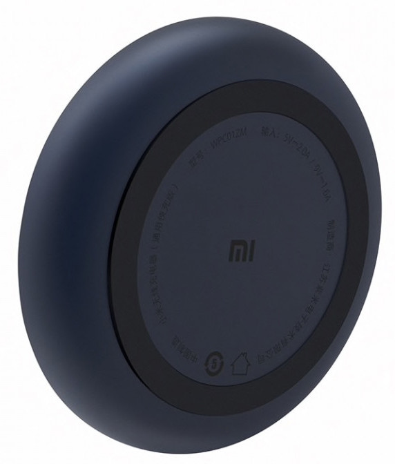Беспроводной зарядное устройство Xiaomi Mi Wireless Charging Pad Черный (WPC01ZM)