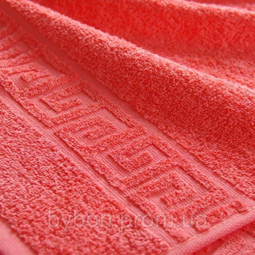 ТМ TAG Полотенце махровое Coral red