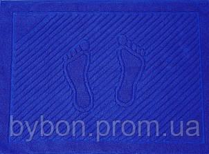 ТМ TAG Полотенце махровое для ног синее