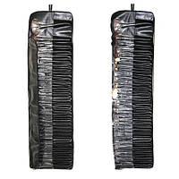 Набор визажный кистей 35шт на завязках