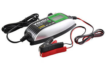 Зарядка для аккумулятора 6/12V, зарядное устройство WINSO 2/4А, интеллектуальная зарядка для АКБ Winso 139700.