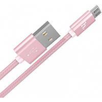 Кабель HOCO Micro USB fabric X2  1m 