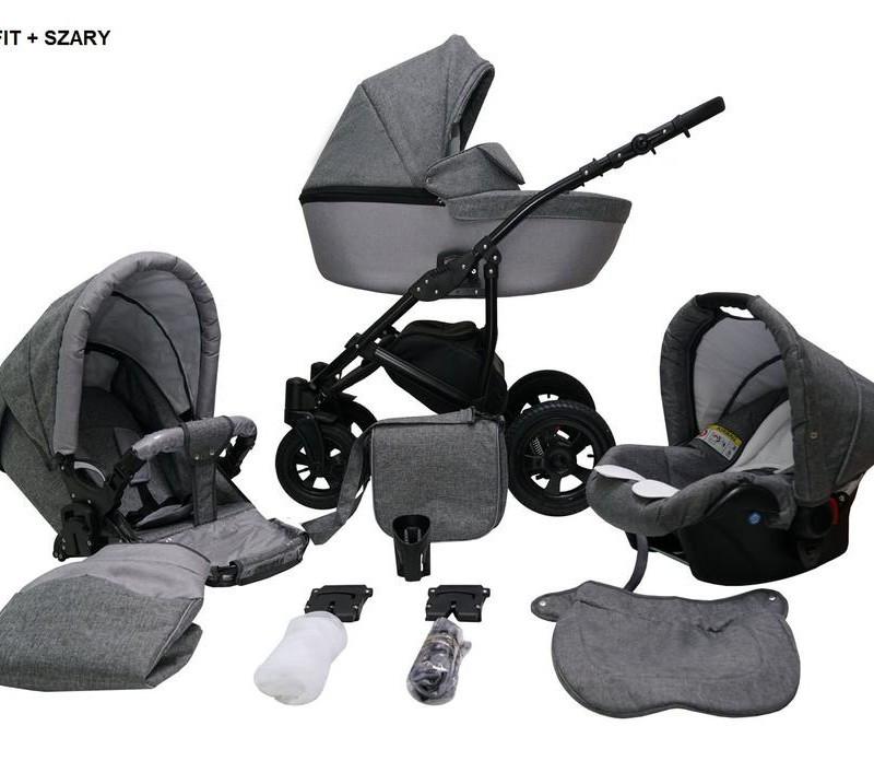 Детская универсальная коляска 2 в 1 Mikrus Avinion 08