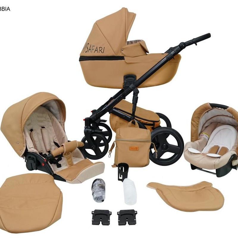 Дитяча універсальна коляска 2 в 1 Mikrus Safari 01