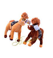 Мягкая игрушка Лошадка 30 см 404
