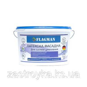Краска фасадная FLAGMAN латексная, 7кг