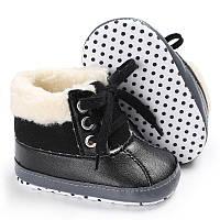 Утепленные ботиночки пинетки, фото 1