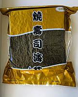 Листы нори Gold 100шт черные Hoshi