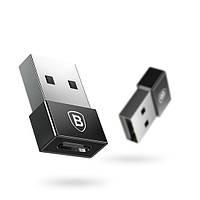 Переходник BASEUS USB Male to Type-C Female Exquisite