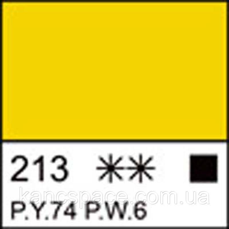 Фарба акрилова ЛАДОГА, жовта світла, 100мл ЗХК