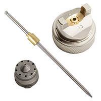 Комплект форсунки 1.3мм для краскопульта HVLP PT-0102 (дюза, воздушная головка, игла INTERTOOL PT-2000
