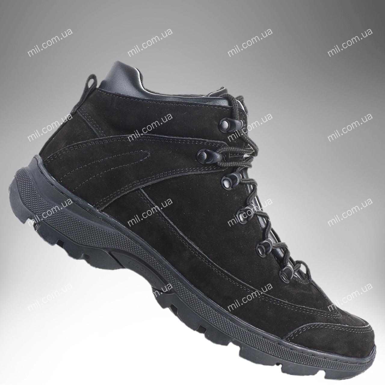 Военные ботинки демисезонные / армейская, тактическая обувь ТИТАН Gen.II (black)