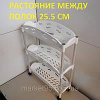 Этажерка на колесиках 670x500x200, фото 1