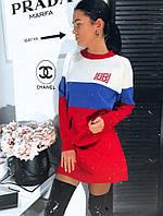 Платье мелкая вязка люксовая реплика Balenciaga