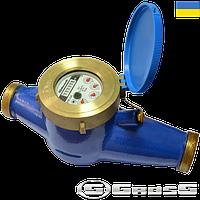 Счетчик воды Gross MTK  1 1/4  дюйма (32 мм) (Гросс мтк )