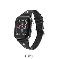Кожаный ремешок для Apple Watch Series 1-4 HOCO Ocean series  WB05 |42-44mm|