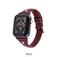 Кожаный ремешок для Apple Watch Series 1-4 HOCO Ocean series  WB05  42-44mm 