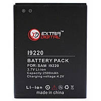 Аккумуляторная батарея EXTRADIGITAL Samsung GT-i9220 Galaxy Note (BMS6310), фото 1