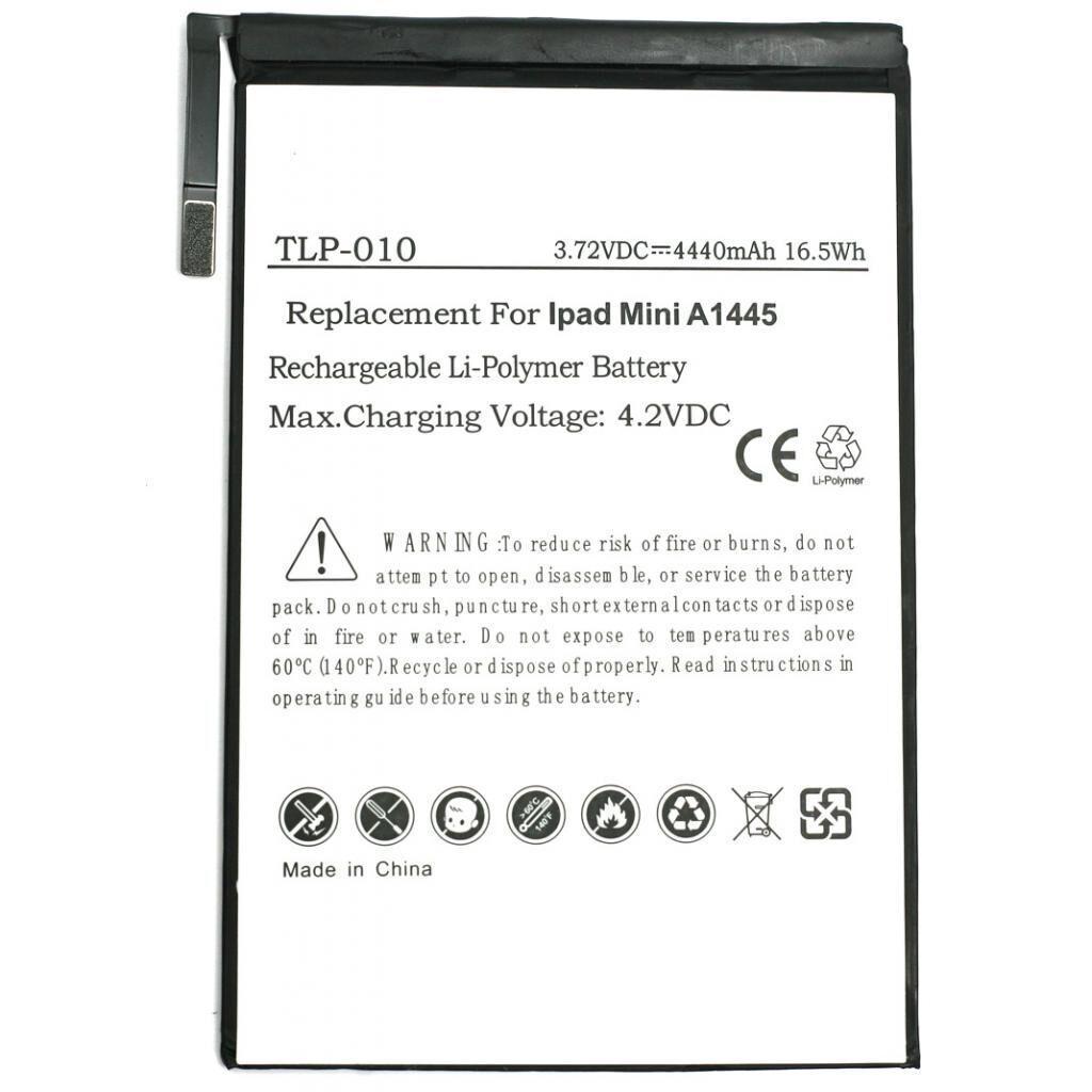 Аккумуляторная батарея PowerPlant Apple iPad mini new 4440mAh (DV00DV6328)