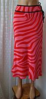 Юбка женская шелковая легкая макси бренд Debenhams р.46-48