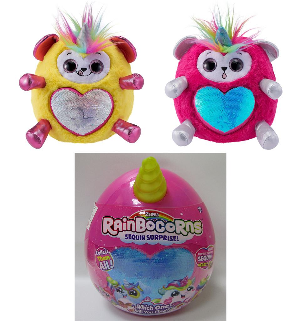 Мягкая игрушка-сюрприз Rainbocorn-G с аксесс., 23*20*28см