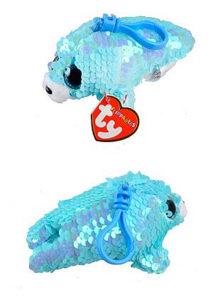 """Мягкая игрушка TY FLIPPABLES """"Тюлень"""" 12см """"WAVES"""", фото 2"""