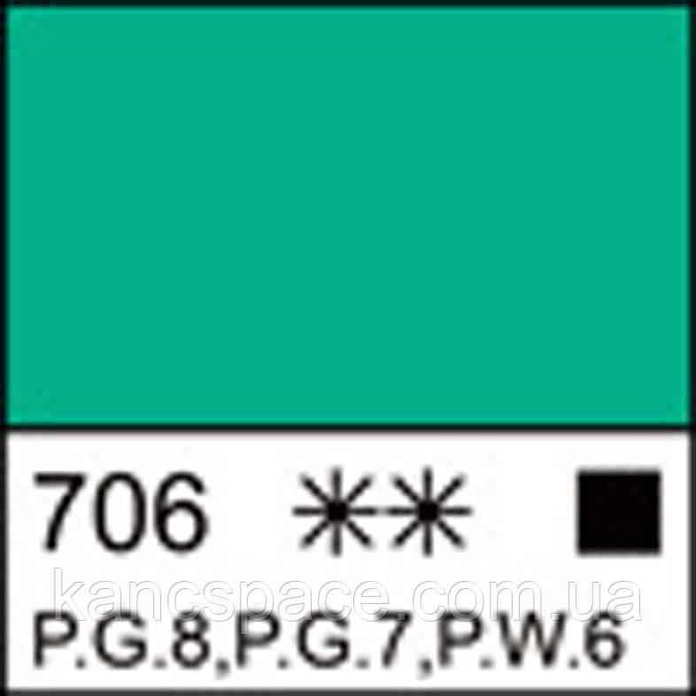 Фарба масляна ЛАДОГА кобальт зелений світлий (А), 46мл ЗХК