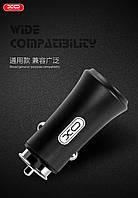 Адаптер автомобильный XO CC-12 |2USB, QC3.0, 2.4A|