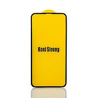 Защитное стекло  KONI STRONG Premium Arc Design для Iphone XS MAX/11 Pro Max |0.3mm| (foam bag)