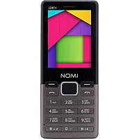 Мобильный телефон Nomi i241 + Metal Dark-Grey
