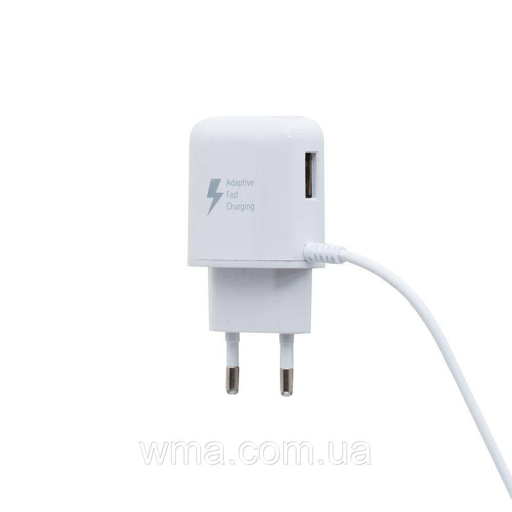 Сетевое зарядное устройство usb (Для телефонов и планшетов) Samsung EP-CM300 2.1A Micro Цвет Белый