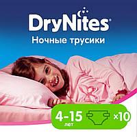 Подгузник Huggies DryNites для девочек 4-7 лет 10 шт (5029053527581), фото 1