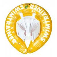 Надувной круг SWIMTRAINER (Желтый) с 2 лет до 8 лет