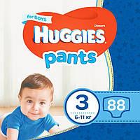 Подгузник Huggies Pants 3 для мальчиков (6-11 кг) 88 шт (5029053564081)