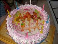 Вафельные украшения, картинки для тортов