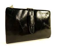 Кошелек кожаный женский черный JCCS 1029, фото 1