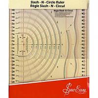 Линейка для вырезания кругов Sew Easy NL4195